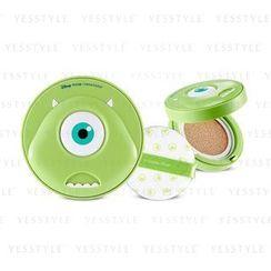 The Face Shop - 迪士尼 Pixar 大眼仔 持久氣墊CC霜 SPF 50+ PA+++ (#V201 Apricot Beige)
