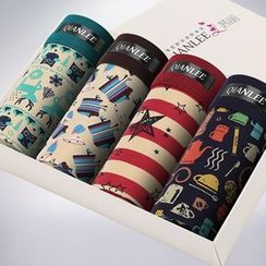 QIANLEE - Printed Boxers 4pcs
