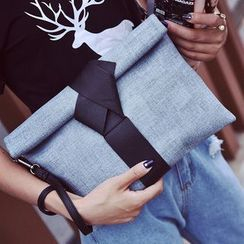Velocia - 拼色結式手包