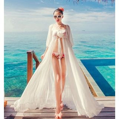 Lady J Swimwear - Chiffon Cover-Up Dress