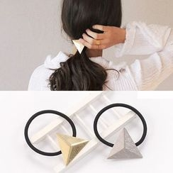 Gold Beam - Triangle Hair Tie