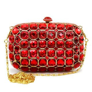 Moonbeam - Jeweled Clutch