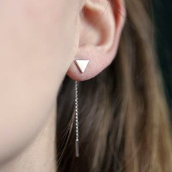 Seirios - Triangle Earrings