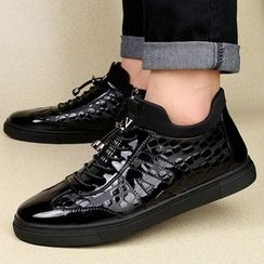 MARTUCCI - Paneled Lace-Up Sneakers