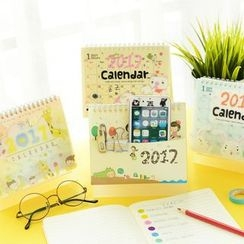 Color Station - Printed Desk Calendar (S)