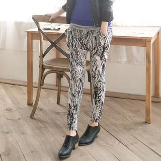 CatWorld - Patterned Harem Pants