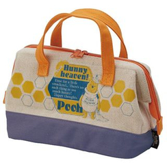 Skater - Winnie the Pooh Cotton Linen Lunch Bag