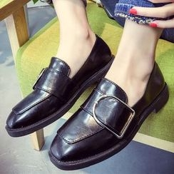 SouthBay Shoes - Buckled Loafers
