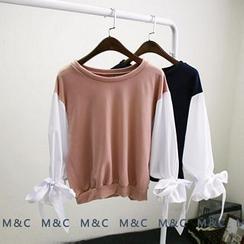 Maymaylu Dreams - Color Block Long-Sleeve T-Shirt