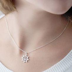 Gemma - Sterling Silver Pendant Necklace