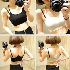 Don Han - Chain Strap Bra Top