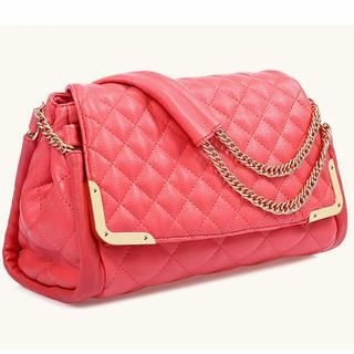 TAIPEI STAR - Metal-Accent Quilted Shoulder Bag
