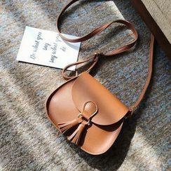 Auree - Tasseled Cross Bag