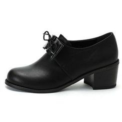 MODELSIS - Lace-Up Faux-Leather Loafers