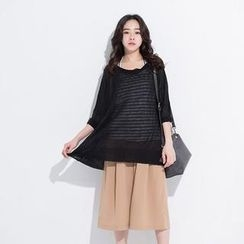 CatWorld - Loose-Fit Knit Top