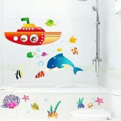 LESIGN - Ocean Wall Sticker