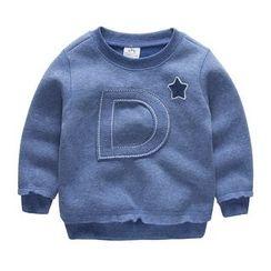Seashells Kids - Kids Alphabet Applique Sweatshirt
