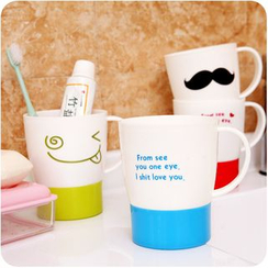 Desu - Print Toothbrush Cup