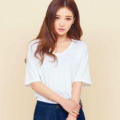 chuu -  V 領棉質 T 恤