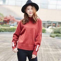 Romantica - Contrast-Color Sweater