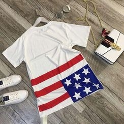 AIGIL - Short-Sleeve Print T-Shirt