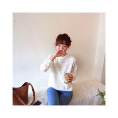 LEELIN - Lace Sweatshirt
