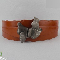 Goldenrod - Bow Elastic Belt
