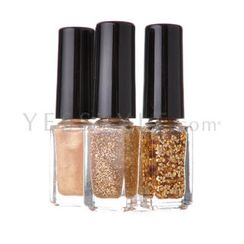 Hope Girl - Nail Travel Bling Bling Set #04 Gold Shine