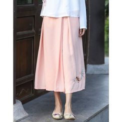Ebbie - Embroidered Culottes