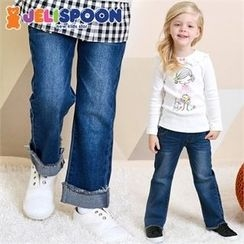 JELISPOON - Kids Straight-Cut Jeans