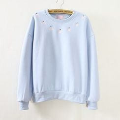 Maymaylu Dreams - Fleece-Lined Printed Pullover