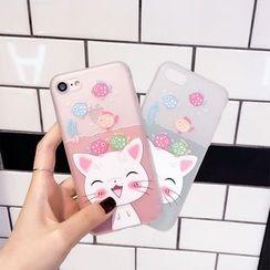 Casei Colour - Cat Print Phone Case - Apple iPhone 6 / 6 Plus / 7 / 7 Plus