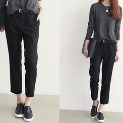 NANING9 - Cropped Dress Pants