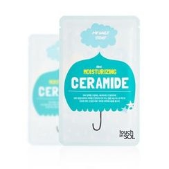 touch in SOL - My Daily Story Moisturizing Ceramide Mask Pack 1pc