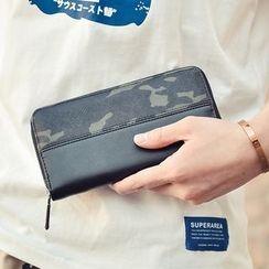 SUNMAN - Camouflage Long Wallet
