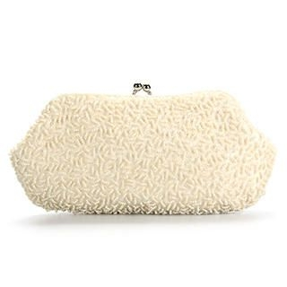 Ethel - Sequined Beaded Clutch