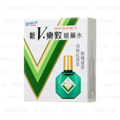 Mentholatum - Rohto New V. Rohto Plus Eye Drops