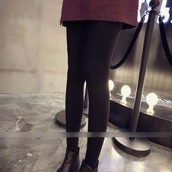 Octavia - Fleece-lined Stirrup Leggings