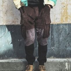 Milioner - Panel Corduroy Cargo Pants