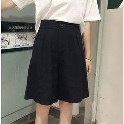 Whitney's Shop - Wide Leg Shorts