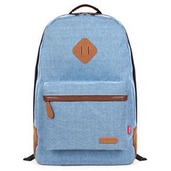 Mr.ace Homme - Appliqué Canvas Backpack