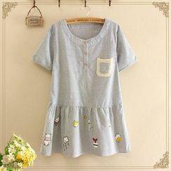 Softies - Short-Sleeve Striped Tunic