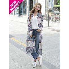 BBAEBBAE - Striped Shirtdress