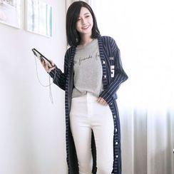 Tokyo Fashion - Striped Button Coat