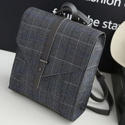 Bibiba - Plaid Backpack