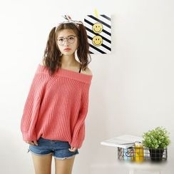 Polaris - Off Shoulder Sweater