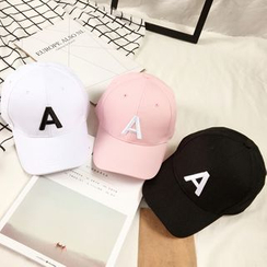 FROME - Alphabet Embroidered Baseball Cap
