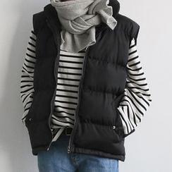 NANING9 - Padded Zip Vest