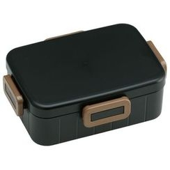 Skater - Earth Color 4 Lock Lunch Box 900ml (Black)