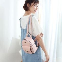 Princess Carousel - Faux Leather Backpack